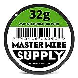 Nichrome 80 - 250' - 32 Gauge Resistance Wire