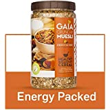 Gaia Crunchy Muesli Fruit and Nut Packed with Fibre, Iron and antioxidants. 1KG
