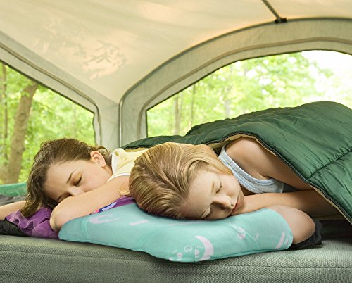 Toddler Pillow for Sleeping, Small Nap Pillow for Kids Travel Size 15'' x 10'' (Green) by Restcloud (Image #5)