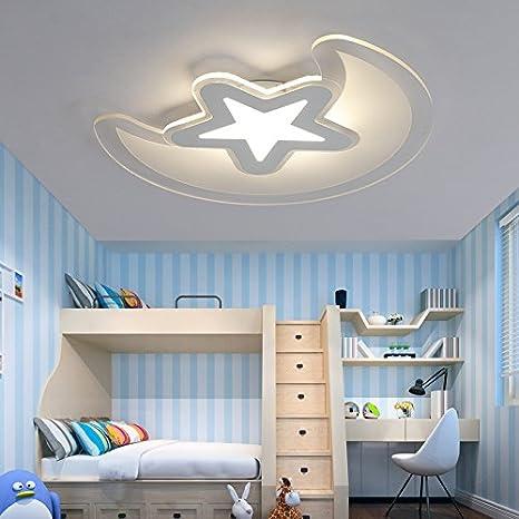 LPLFCeiling Dormitorio juvenil moderno LED luz de techo ...