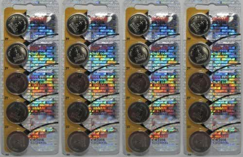20 Maxell Batteries Cr2016 3v Lithium, New hologram packaging that guarantees authenticity by Maxell