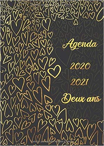 Calendrier Journalier 2021 Agenda 2020 – 2021 deux ans: Agenda Semainier et Calendrier