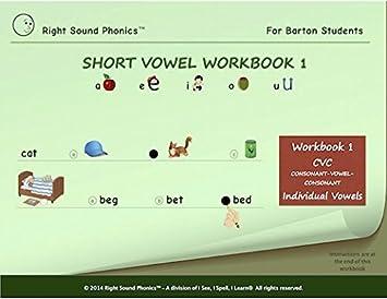 Amazon.com: Short Vowel Workbook 1 - Right Sound Phonics: Toys & Games