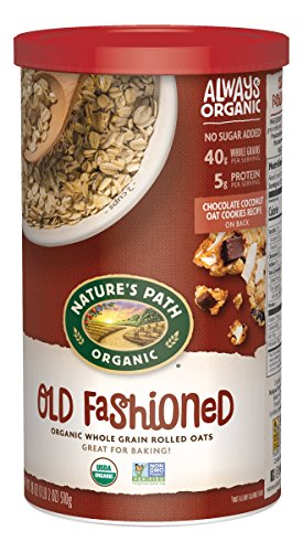 Nature's Path Organic Oats, Old Fashioned, 18 Ounce Canister (Pack of ()