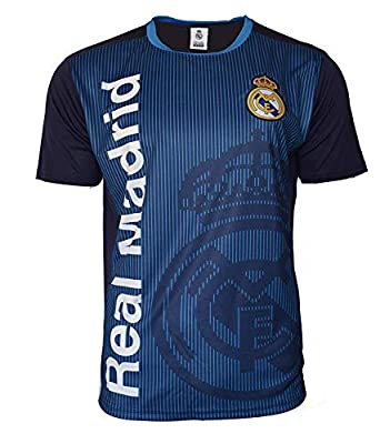 Icon Sports Group Real Madrid Officially Licensed Soccer Poly Shirt Jersey -01