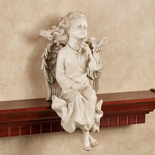 Angel Shelf Sitters - Touch of Class Angel Shelf Sitter Cream