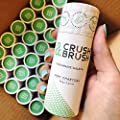 CRUSH AND BRUSH Toothpaste Tablets - MINT CHARCOAL - 2.12 oz