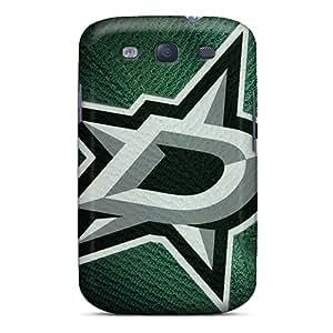 For Galaxy S3 Tpu Phone Case Cover(dallas Stars)