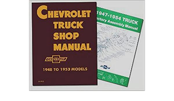 step by step 1947 1948 1949 1950 1951 1952 1953 1954 chevy truckstep by step 1947 1948 1949 1950 1951 1952 1953 1954 chevy truck repair shop \u0026 service manual \u0026 factory assembly manual set sedan delivery; light duty ½