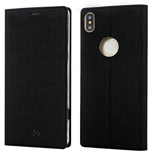 iPhone-X-CaseiPhone-XS-CasePU-Leather-Wallet-Slim-Thin-Case-Flip-Folio-Kickstand-Feature-with-IDCredit-Card-Holder-TPU-Bumper-Full-Cover-Case-for-Apple-iPhone-X-2017-iPhone-XS-2018