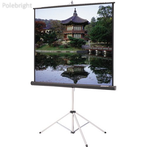 73558 Picture King Tripod Front Projection Screen