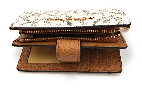 ac18d03a4a9f Michael Kors Jet Set Travel Bifold Zip Coin Wallet Clutch - Import It All