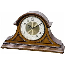 Rhythm Clocks Remington II Wooden Musical Mantel Clock
