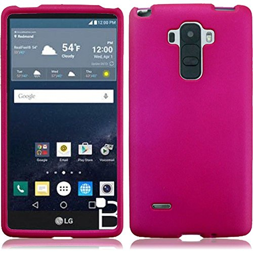 HR Wireless Cell Phone Case for LG G Stylo LS770 H631 G4 Stylus - Hotpink