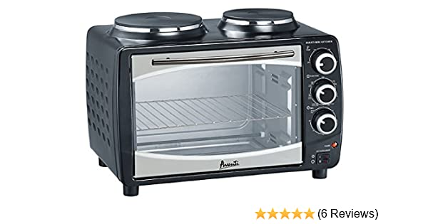 Avanti Products POBW111B-IS Portable Countertop Oven, 1.1 cu. ft, Stainless  Steel