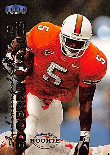online store 64002 3a22a Edgerrin James football card (Miami Hurricanes) 1999 Fleer ...