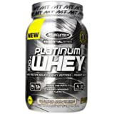 MuscleTech Essential Series 100% Platinum Whey Cookies and Cream - 2 lbs (907g)