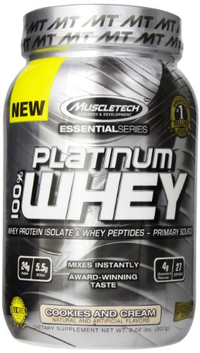 MuscleTech Platinum Protein Powder Cookies