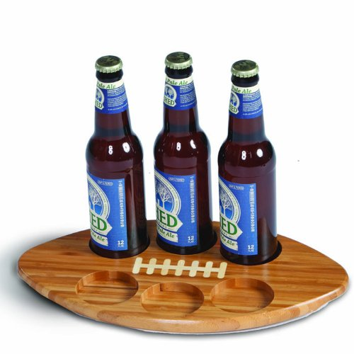 Football Shaped Beer Bottle Or Glass Flight By Picnic Plus