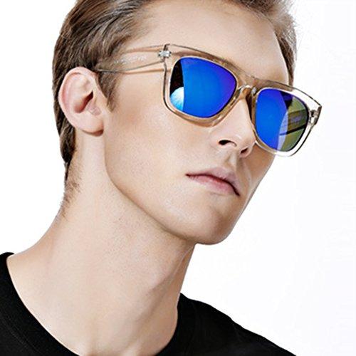 Sol Sol Gafas Gafas Elegante Cómodo Retro Y Grande QY Montura Color Polarizadas De 4 De 1 YQ De Gafas xBCPqwXwt