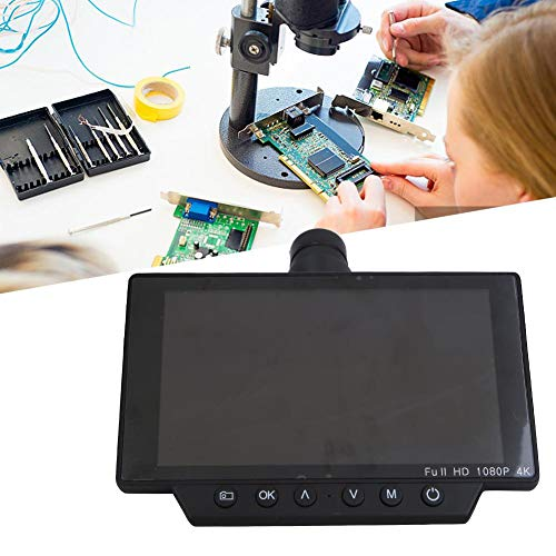 USB顕微鏡、1080P 4k 5in 60FPS HDMI WIFI顕微鏡カメラセット、USBインターフェース付き