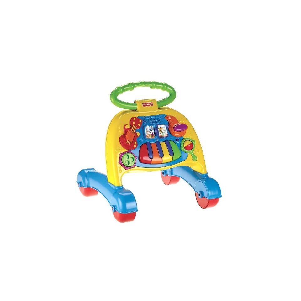 Fisher Price Brilliant Basics Musical Activity Walker Toys & Games