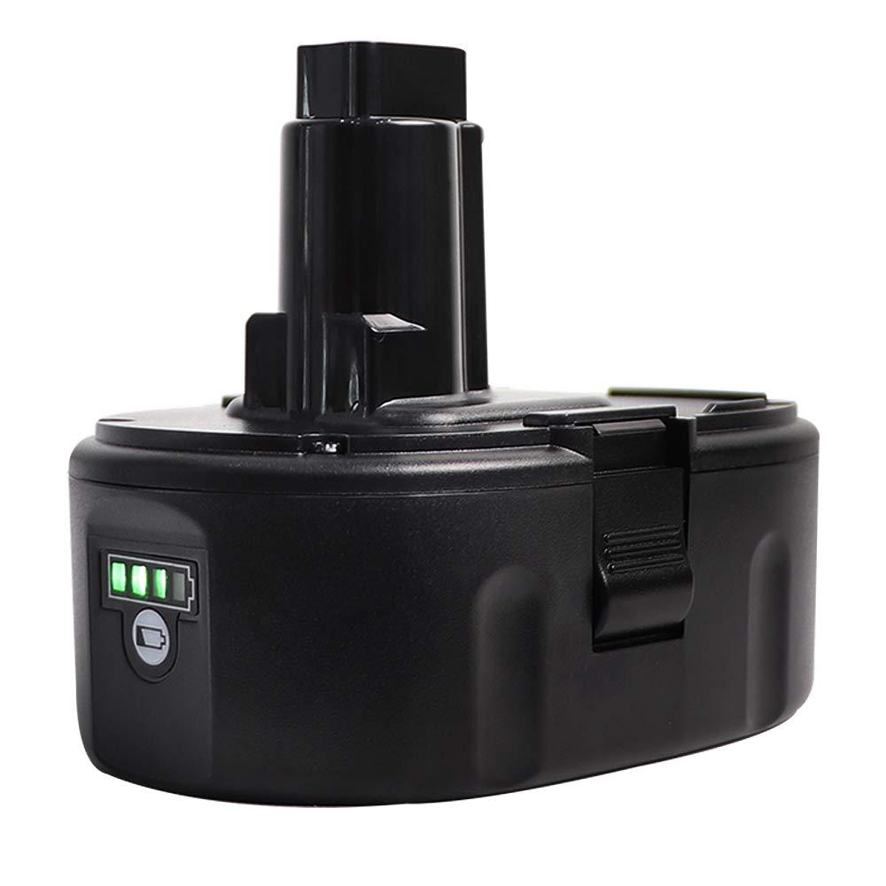 Sankeup 5.0Ah Lithium-Ion Replace for Dewalt 18V Battery XRP DC9096 DC9098 DC9099 DW9095 DW9096 DW9098 DW9099 DE9039 DE9095 DE9096 DE9503 DE9098 DC9181 Cordless Power Tools