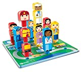 learning resource center - Learning Resources Peg Friends Around the Town, 28 Pieces