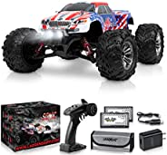 1:16 Scale Large RC Cars 36+ kmh Speed - Boys Remote Control Car 4x4 Off Road Monster Truck Electric - All Ter