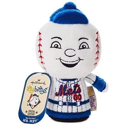 Hallmark Itty Bittys New York Mets Mr. Met Special Edition Stuffed Animal