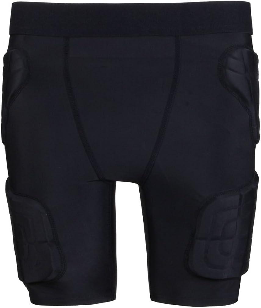 yingfeg bb Kids Padded Compression Shorts Protective Underwear Hip Butt Pad Short Pants : Clothing