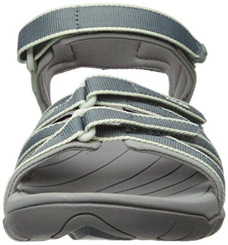 Teva Tirra W's,  Sandalias Deportivas para Mujer Slate/Grey