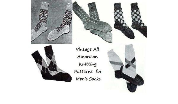 Amazon.com: Vintage todos americano tejer patrones para los calcetines de los hombres (Spanish Edition) eBook: Unkown: Kindle Store