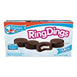 Drakes Ring Dings 10 Frosted Creme Filled Devils Food Cake