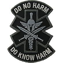 Do No Harm (Spartan) Morale Patch (SWAT (Black))