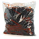 Hangerworld 460 Strong Black Rubber Elastic Bands No 36 - 454g For Use in School, Office, Home etc