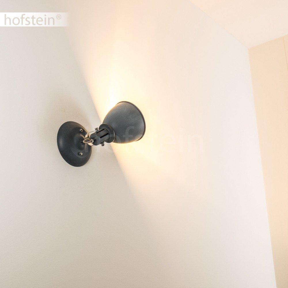 s/éjour chambre Plafonnier Koppom /à 4 lumi/ères en m/étal gris bleu T/êtes pivotantes et r/églables. Plafonnier dint/érieur couloir