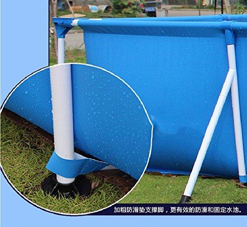 Steel Pro Deluxe Splash Frame Pool