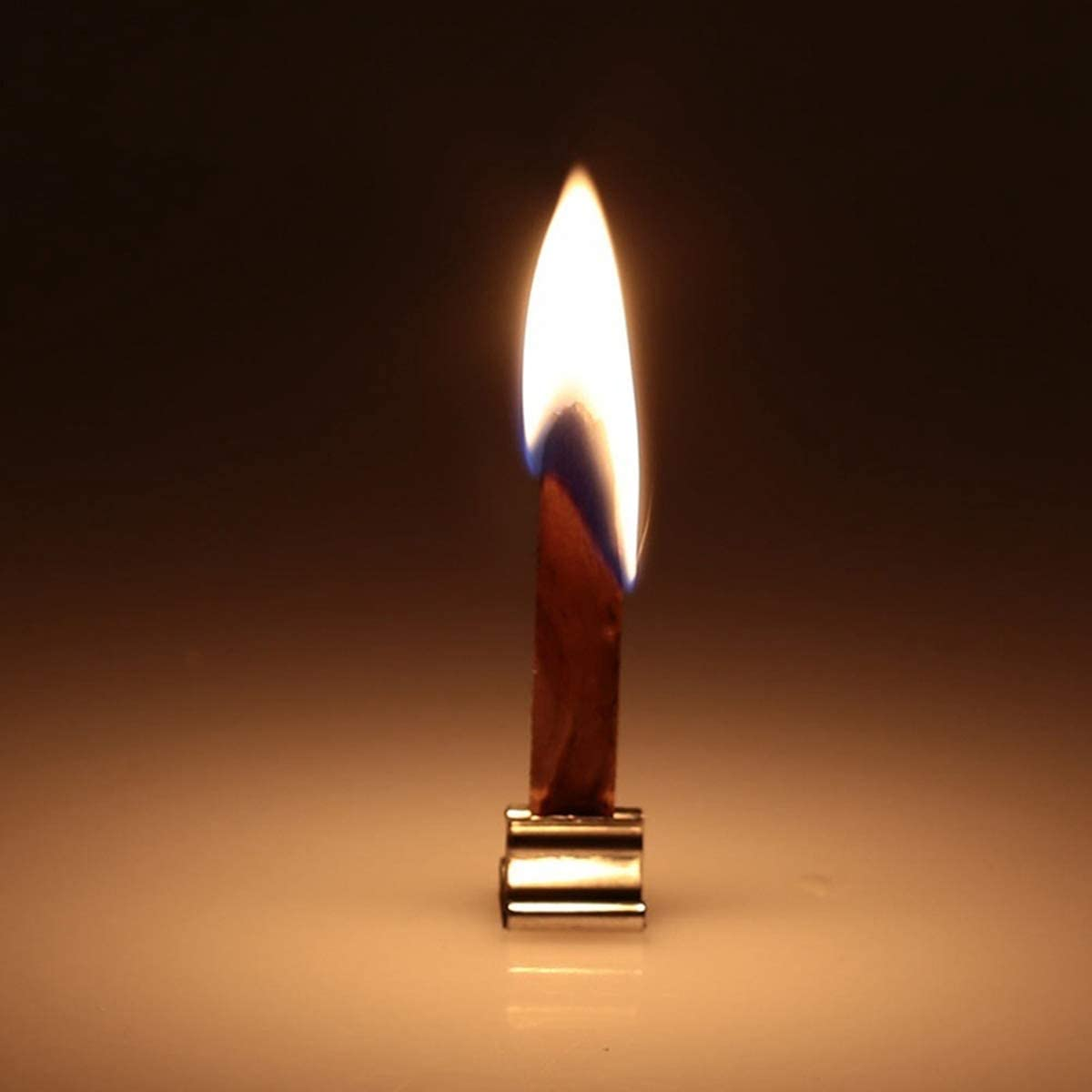 13 mm herstellen Kerzendochtkern f/ür handgefertigte DIY-Kerzen 8 mm die Zubeh/ör f/ür Sojaparaffinwachs 6 mm 12,5 mm MZY1188 50 STK Holzkerzendocht mit Eisenst/änder Kerzendocht aus Holz