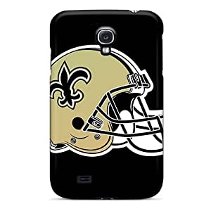 Anti-Scratch Hard Cell-phone Cases For Samsung Galaxy S4 (Osq17693kdtR) Support Personal Customs Attractive New Orleans Saints Series