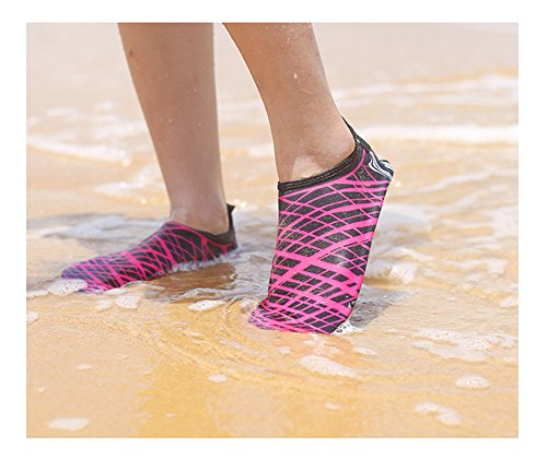 hefeilzmy Shoes Shoes Beach Unisex Quick Red Snorkeling Shoes Water Diving Breathable Dry F4Fq1xr