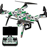 MightySkins Protective Vinyl Skin Decal for 3DR Solo Drone Quadcopter wrap cover sticker skins Retro Controllers 1