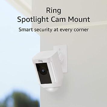 Ring Spotlight Cam Mount Hd Security Camera White Amazon Ca