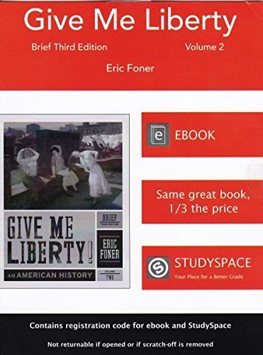 Give Me Liberty Brief Third Edition Volume 2