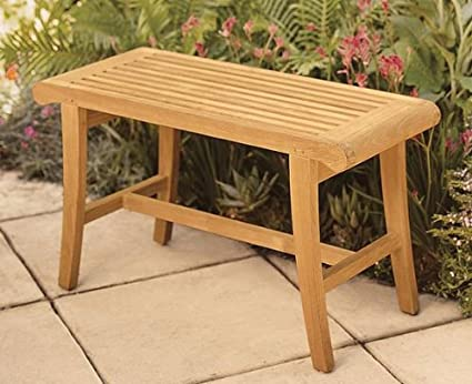 Marvelous Wholesaleteak New Grade A Teak Wood Luxurious Outdoor Garden Bath Stool Occasional Bench Whbhoc Gmtry Best Dining Table And Chair Ideas Images Gmtryco
