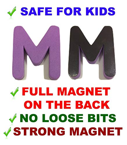 Magnetic Letters Numbers - Both Upper & Lower Case & Numbers