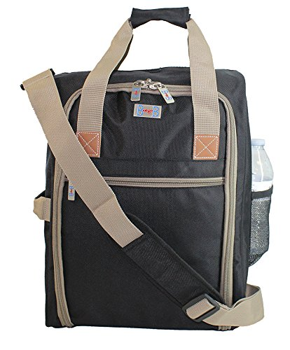 Boardingblue Personal Item under seat for the airlines of American, Frontier, Spirit, (Beige)