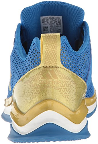 adidas Herren Speed ​�?.0 Cross-Trainer Schuhe Blau / Metallic Gold / Weiß