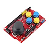 Goliton Gamepad Joystick Shield Module Game Rocker Button Controller Expansion Board For Arduino Simulated Keyboard Mouse