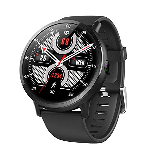Smart Watches Fitness Trackers Watch Smartwatch Band Heart Rate Monitor 4G Smart Watch Android Watch, Hd Big Screen 8…